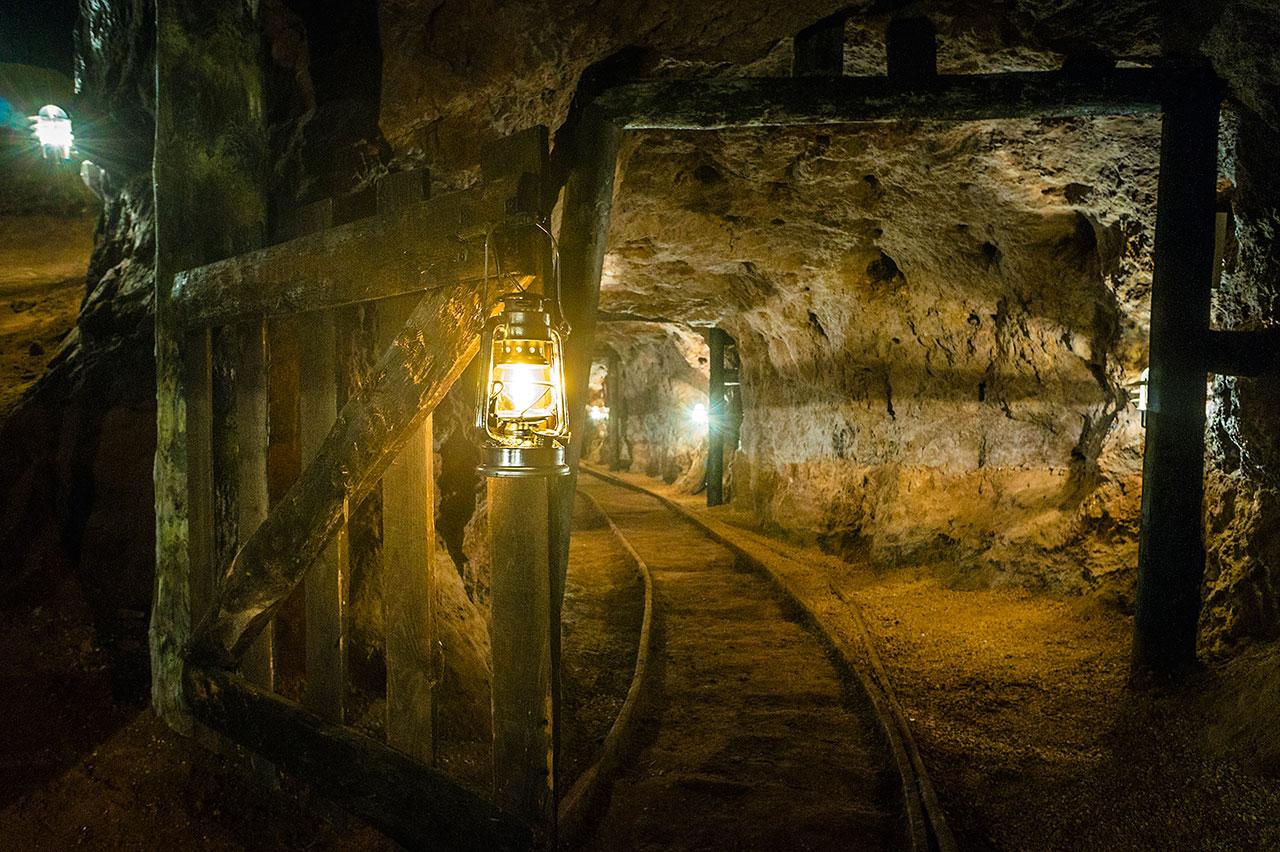 Las visitas a las minas de Olmos y Puras se ofertan en un paquete único